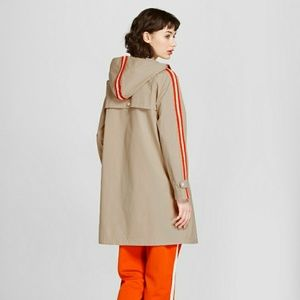 Hunter for Target Hooded Trench Coat Large